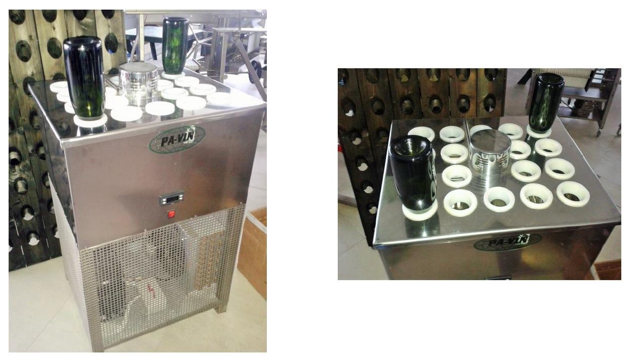 Uređaji za hlađenje taloga u boci